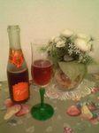 苺スパークリングワイン